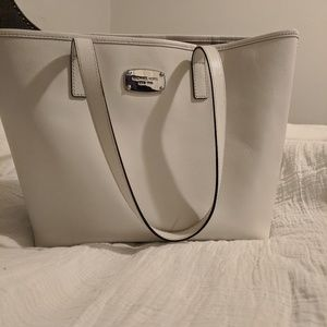 White authentic Michael Kors purse